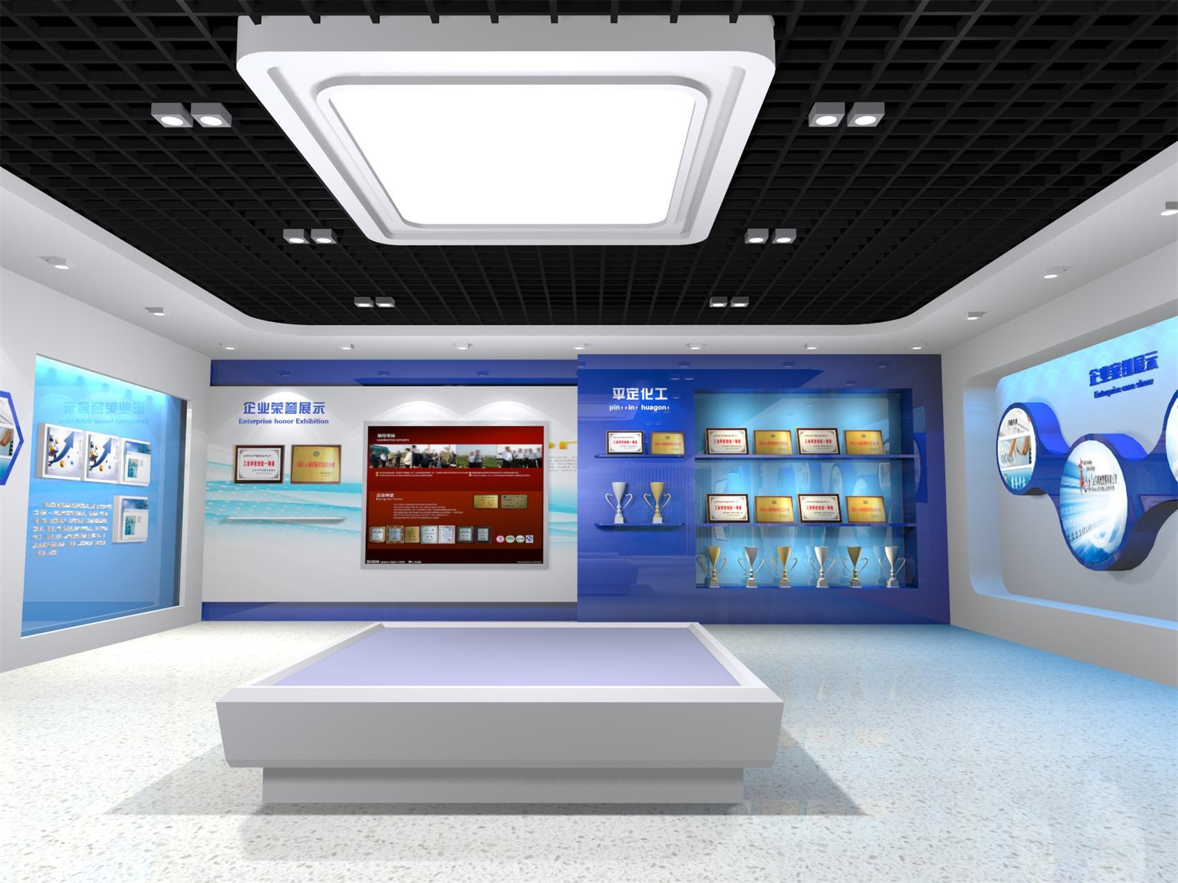 展厅发展历程设计