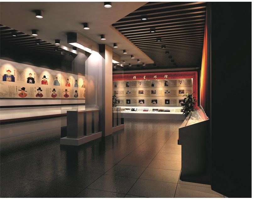 廉政教育展厅清廉国土设计